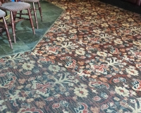 Commercial carpet cleaned